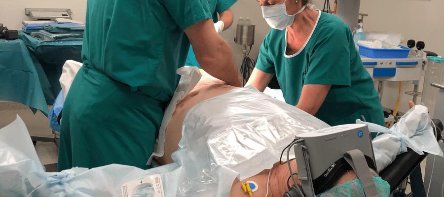 realite virtuelle et anesthesie loco regionale