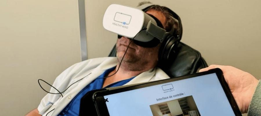 relaxation soignants casques realité virtuelle