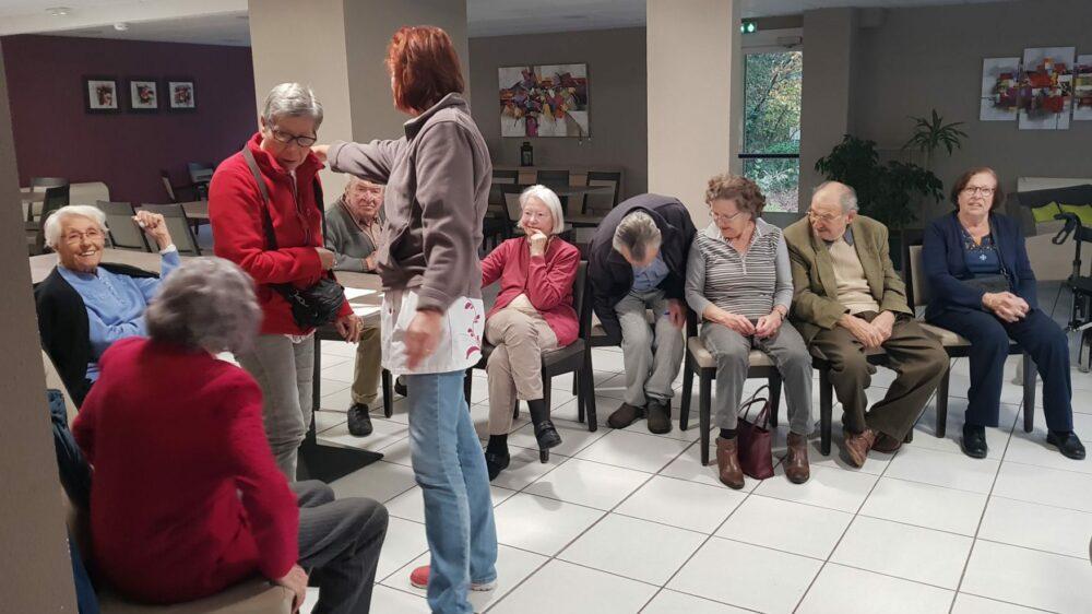 Relaxation en maison de retraite